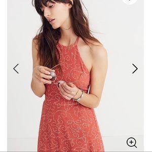 Madewell Halter Tie-Back Maxi Dress